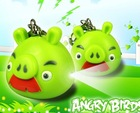 Angry pig LED lightig key ring with sing sound promotion ABS