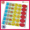 Professional print high quality waterproof self-adhesive sticker