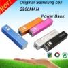 2012 new real capacity 2800Mah portable power bank