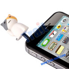 Cute Cat Earphone Jack Dust Cap Plug for iPhone
