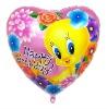 "36"" heart printed balloon"