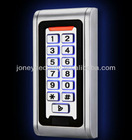 Metal proximity card reader hid with keypad