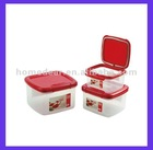 KH-10 3pcs plastic food storage box