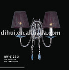 2012 modern crystal wall light DW-0125-2