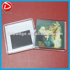 Transparent blank acrylic fridge magnet photo frame
