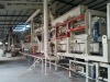 automatic MDF diamond roller mat forming machine