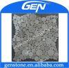 grey round mosaic
