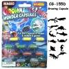 educational growing sea animal capsule toy