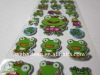 Kids Cute Cartoon Puffy Sponge Sticker