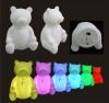 mood light flashing Teddy bear