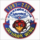 Custom Aviation embeoidered Patches -02