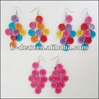 hot sale new fashion button earring