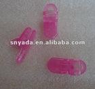 Plastic clear small alligator clip