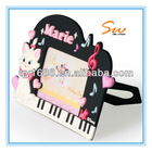 Popular Plastic Photo funny Frames with Grand Piano-shaped for Musical kids