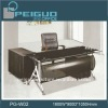 PG-W02 Stainless steel glass table