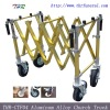 THR-CTF04 Aluminum Alloy Church Coffin Trolley