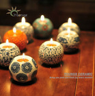 2012 hot sale hand maded ceramic cheap candle holders made in Jingdezhen