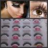 Fashion New style hot sell 100% human hair eyelashes