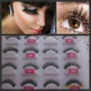 Fashion New style hot sell 100% human hair eyelashes