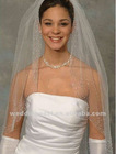 One Layer Elbow Length Bridal Veil WHN-24