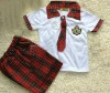 2012 fashionable cute school uniform and primary school uniform