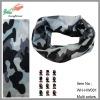 wholesale hot selling seamless elastic camo bandana
