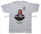 100% cotton election t-shirt with photo printing