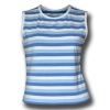 Ladies' Yarn Dye Stripes Tops