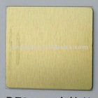 Stable quality marble finished PE/PVDF brush finish aluminum plastic composite panel