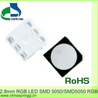 Hot sale 800pcs/reel 2.8mm Height 5050 RGB SMD LED good use for display