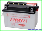 Dry Charged Motorcycle Battery 12N6-3B 12V