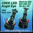 20W CREE H8 CANBUS LED angel eye for all 2010 up BMW