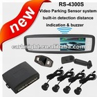 4.3 inch special video parking sensor system