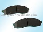 brake pads for MITSUBISHI