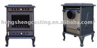 cast iron stoves and fireplace