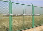 Powder Coated Highway Steel Fencing