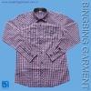 men's popular check shirt