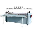 paper separation roller line machine