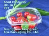 PET Disposable Fruit Hinged Container HC-16