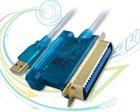 USB to CN 36 Parallel and RS232 Cable,usb dual serial and parallel cable