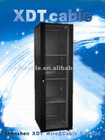 19-inch Network Server Cabinet with Detachable Structure and Glass Front Door