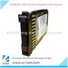 72GB 3G SAS 15K SFF SP HDD,2.5' 431935-B21 Server Hard Drive for Server
