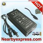 Wholesale Black laptop AC adapter (60W 12V 5A 4-pin din 2-Prong US Version)