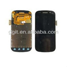 4.3 Inch Cell Phone Lcd Touchscreen Repalcement Completely For Samsung i9023 TFT Black