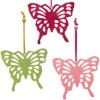 Hanging felt butterfly, butterfly hanging ornaments, HF-06014