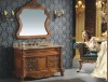 Luxury Antique chinese vanity hutch mirror cabinet design for bedroom DRK- D6020