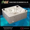 Outdoor hot tub +Massage bathtubs+LED light