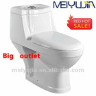 Foshan Meiyujia sitting WC dual flush types of toilet bowl bathroom washdown toilet