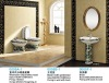 Ceramic bathroom sanitary ware set for the hotel and project