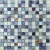 12'' glass mosaic tile with rippled surface (ZM27)